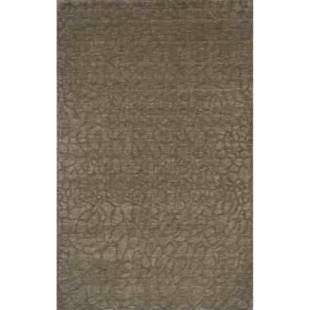 Momeni Gramercy Area Rug - 5x8', Handwoven Wool in Sage - Closeouts