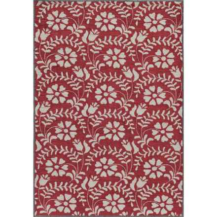 "Momeni Havana Area Rug - 5'x7'6"" in Red - Closeouts"