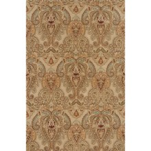 "Momeni Imperial Court Paisley Wool Area Rug - 5'3""x8' in Sand - Closeouts"