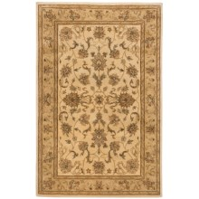 "Momeni Imperial Court Traditional Wool Area Rug - 5'3""x8"" in Beige - Closeouts"