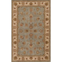 Momeni Imperial Court Traditional Wool Area Rug - 8x11' in Seafoam - Closeouts