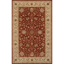 Momeni Imperial Court Traditional Wool Area Rug - 8x11' in Rust - Closeouts