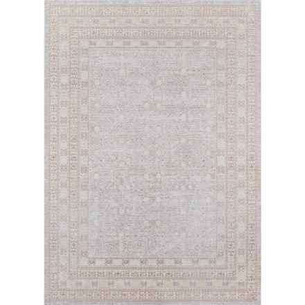 Momeni Isabella Collection Area Rug - 5x8' in Grey Geometric - Closeouts
