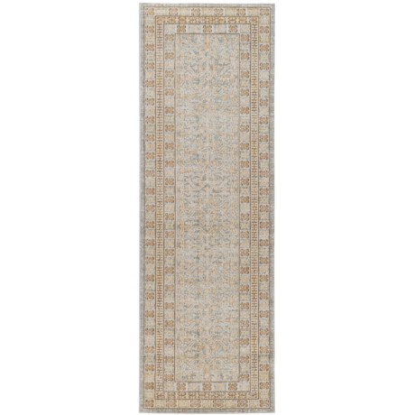 "Momeni Isabella Collection Floor Runner - 2'7""x8' in Beige Geometric"