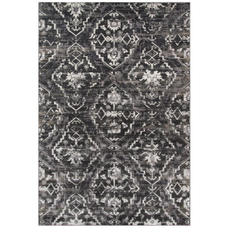 Momeni Juliet Collection Accent Rug - 2x3' in Charcoal