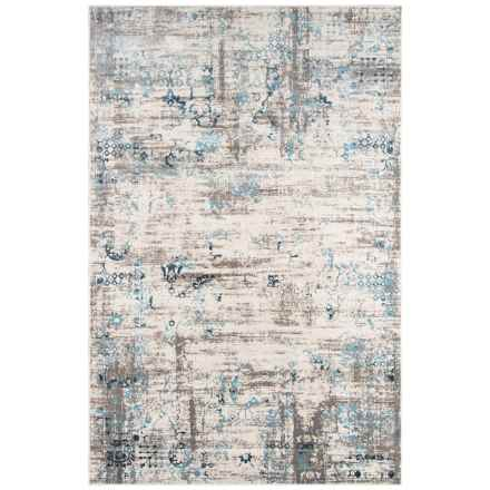 "Momeni Juliet Collection Area Rug - 5x7'6"" in Blue - Closeouts"