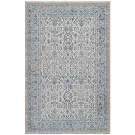 "Momeni Kerman Vintage Look Area Rug - 5'3""x7'6"" in Ivory - Closeouts"