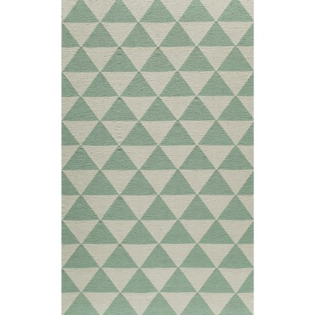 Momeni Laguna Triangles Flat Weave Wool Accent Rug 36x56
