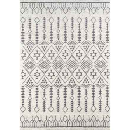 "Momeni Lima Collection Plush Area Rug - 5'3""x7'6"" in Ivory - Closeouts"