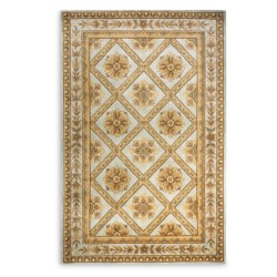 "Momeni Maison Collection Hand-Tufted Wool Area Rug - 5'3""x8' in Aqua Ma11"
