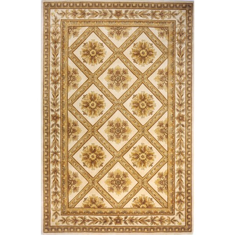 "Momeni Maison Collection Hand-Tufted Wool Area Rug - 5'3""x8' in Ivory Ma11"