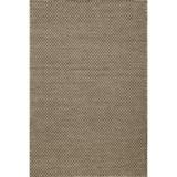 Momeni Mesa Flat-Weave Natural Wool Area Rug - 5x8', Reversible