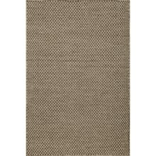 Momeni Mesa Flat-Weave Natural Wool Area Rug - Reversible, 5x8' in Honeycomb Brown - Overstock