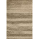 Momeni Mesa Flat-Weave Natural Wool Area Rug - Reversible, 5x8'