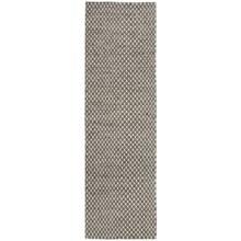 "Momeni Mesa Flat-Weave Natural Wool Floor Runner - 2'3""x8', Reversible in Honeycomb Brown - Overstock"
