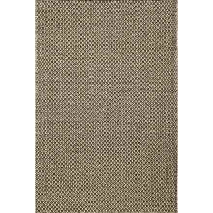 """Momeni Mesa Flat-Weave Reversible Accent Rug - 3'6x5'6"""" in Honeycomb Brown - Overstock"""