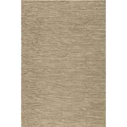 "Momeni Mesa Flat-Weave Reversible Accent Rug - 3'6x5'6"" in Natural - Overstock"