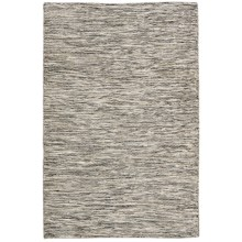 "Momeni Mesa Flat-Weave Reversible Area Rug - 3'6x5'6"" in Heathered Natural - Overstock"