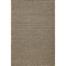 Momeni Mesa Flat-Weave Reversible Natural Wool Area Rug - 8x10' in Honeycomb Brown - Overstock