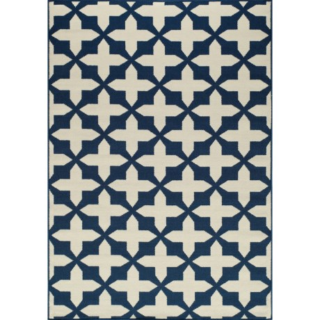Momeni Moroccan Lattice Indoor/Outdoor Area Rug 53x76