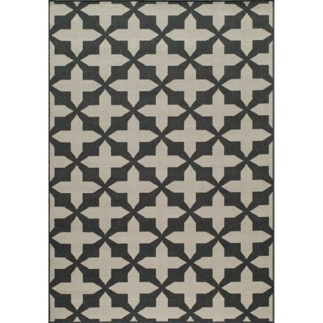 Momeni Moroccan Lattice Indoor/Outdoor Area Rug 67x96