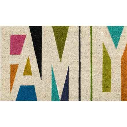 """Momeni Novogratz Aloha Brights Doormat - 1'6""""x2'6"""" in Family - Closeouts"""