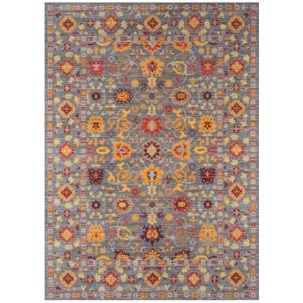 Momeni Petra Traditional Area Rug - 5x8' in Grey - Closeouts