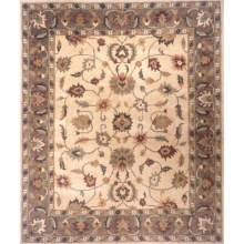 "Momeni Sedona Collection Hand-Knotted New Zealand Wool Area Rug - 9'6""x13'6"" in Beige-Sd - Closeouts"