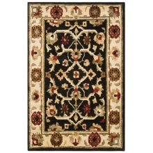 """Momeni Sedona Collection Hand-Knotted New Zealand Wool Area Rug - 9'6""""x13'6"""" in Black-Sd - Closeouts"""