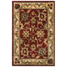"""Momeni Sedona Collection Hand-Knotted New Zealand Wool Area Rug - 9'6""""x13'6"""" in Red-Sd - Closeouts"""