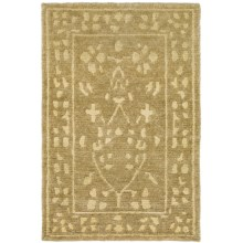 "Momeni Sedona Collection Hand-Knotted New Zealand Wool Area Rug - 9'6""x13'6"" in Beige - Closeouts"