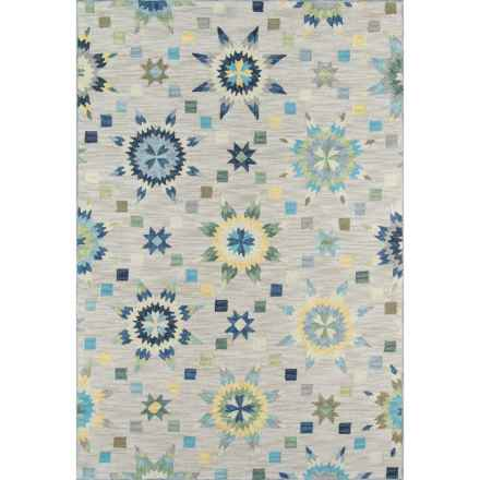 "Momeni Summit Collection Area Rug - 5'x7'6"" in Grey - Closeouts"