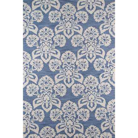"Momeni Summit Collection Area Rug - 5'x7'6"" in Navy - Closeouts"