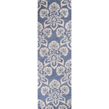 """Momeni Summit Collection Floor Runner - 2'3""""x7'6"""" in Navy - Closeouts"""