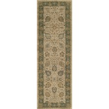 "Momeni Zarin Collection Floor Runner - 2'6""x8', Hand-Tufted Wool in Almond - Closeouts"