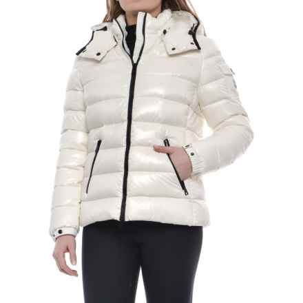 Moncler Bady Quilted Down Jacket (For Women) in White - Closeouts