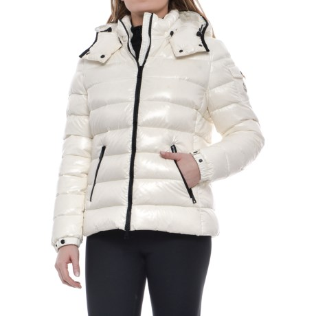 Moncler Bady Quilted Down Jacket (For Women) in White