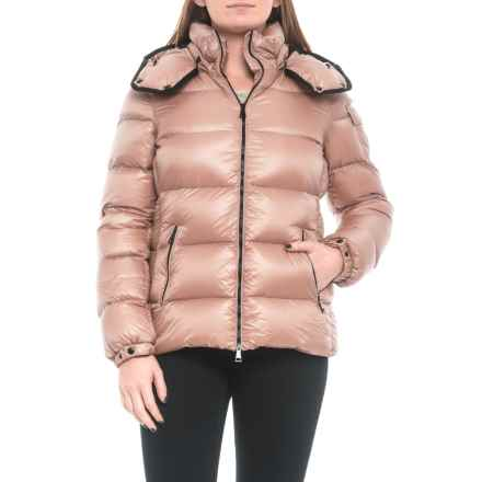Moncler Berre Quilted Down Jacket (For Women) in Pink - Closeouts
