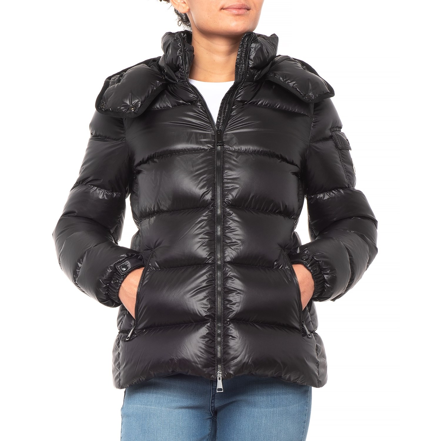 Moncler Berre Quilted Down Jacket (For Women)