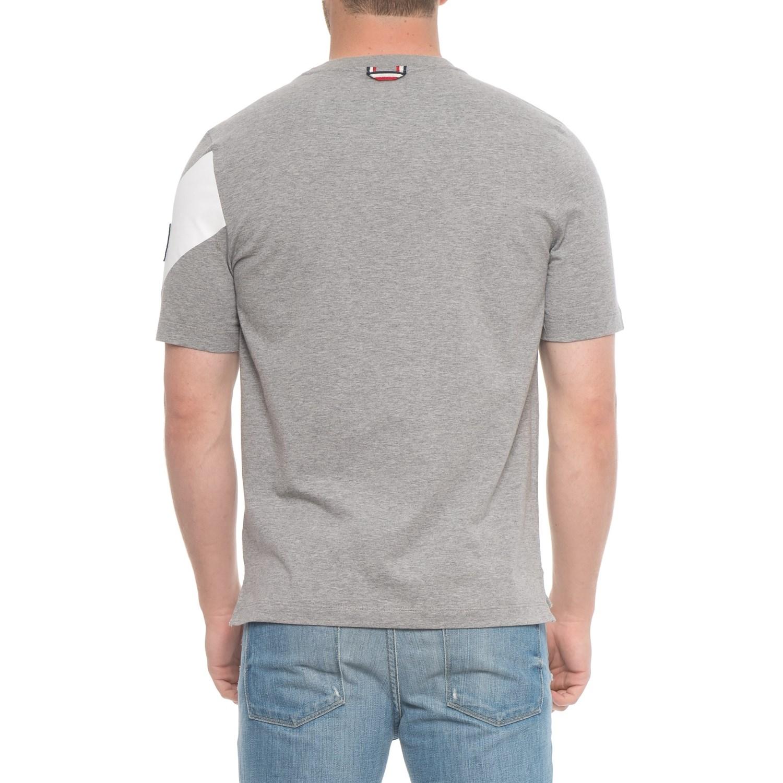Moncler Gamme Bleu Chevron T-Shirt -Short Sleeve (For Men)