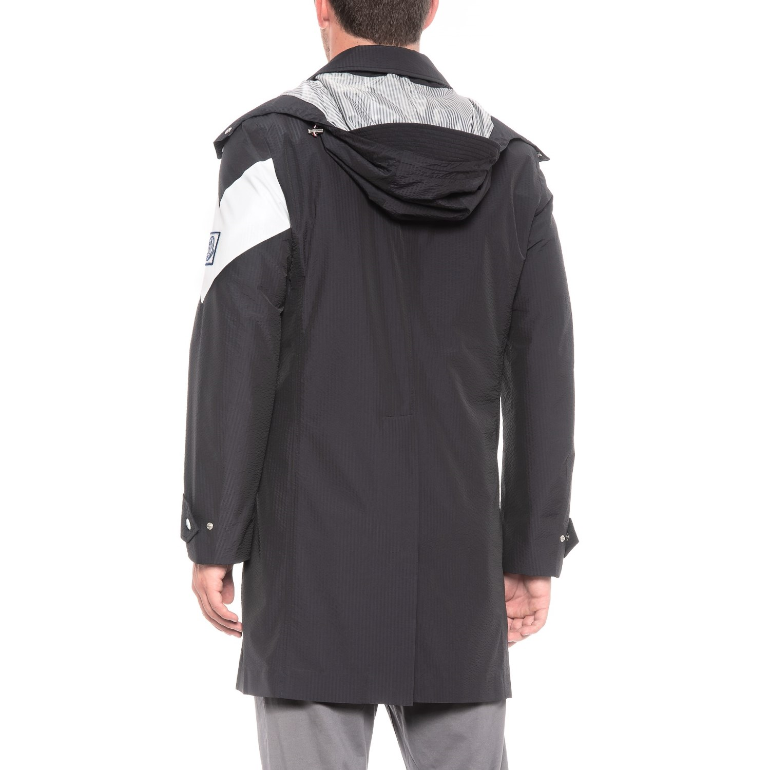 Moncler Gamme Bleu Long Jacket (For Men)