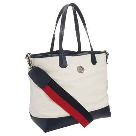 Moncler Iris Tote Bag (For Women) in Beige - Closeouts