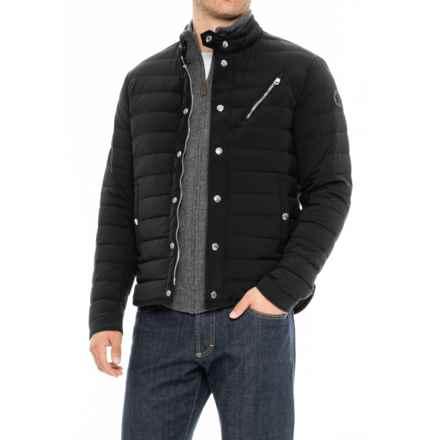 Moncler Nestor Down Jacket (For Men) in Black - Closeouts