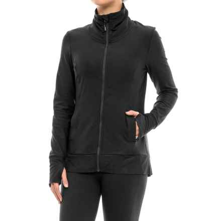 Mondetta After Class Yoga Jacket (For Women) in 1401 Black - Closeouts