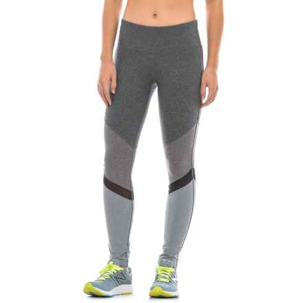 06b588df85647 Clearance. Mondetta Chevron High-Performance Pants (For Women) in Granite  Melange Combo - Closeouts