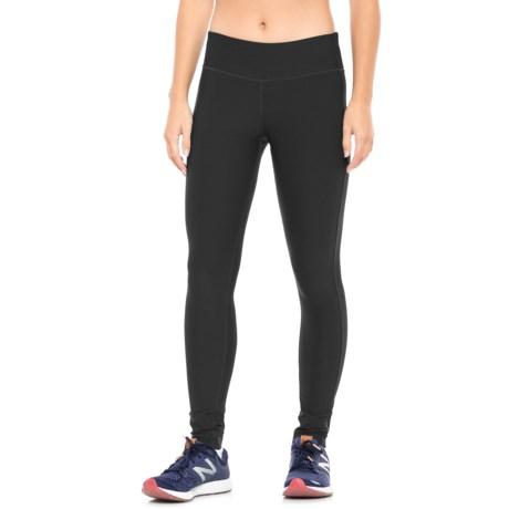 Mondetta Core Running Tights (For Women) in Black