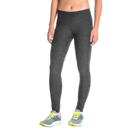 Mondetta Core Tights (For Women) in Granite Melange - Closeouts