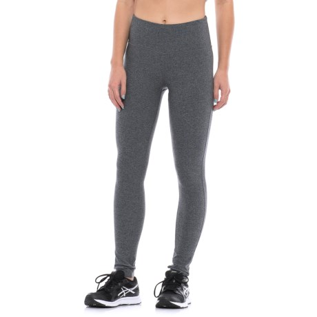 Mondetta Core Tights - Wide Waistband (For Women)