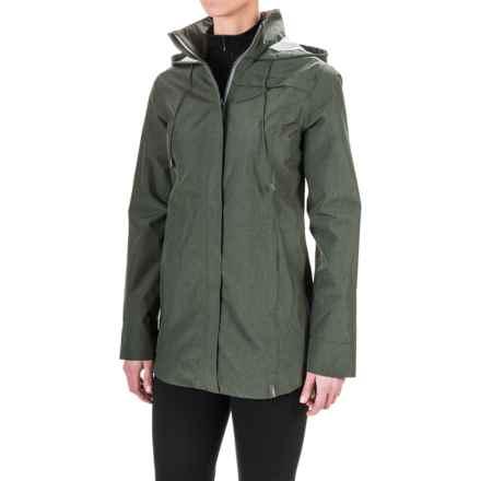 Mondetta Cosmo Rain Jacket (For Women) in Olive - Closeouts