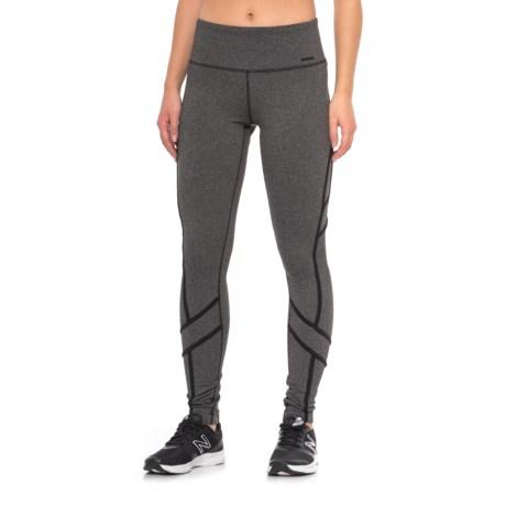 Mondetta Cropper High-Performance Pants (For Women) in Black Combo